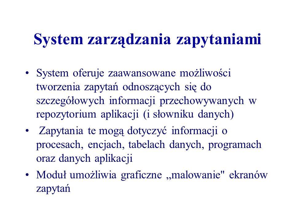 System zarządzania zapytaniami