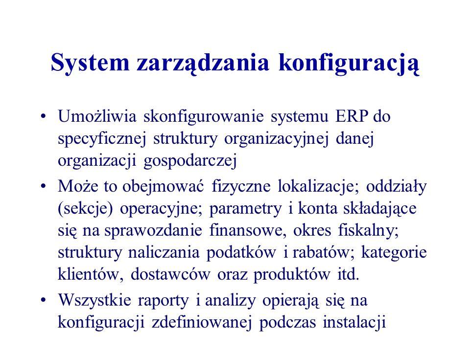 System zarządzania konfiguracją