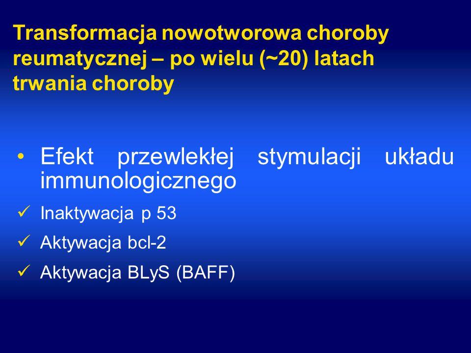 Efekt przewlekłej stymulacji układu immunologicznego