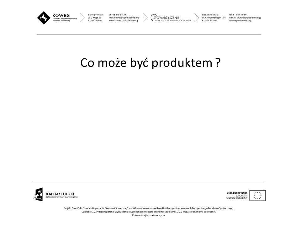 Co może być produktem