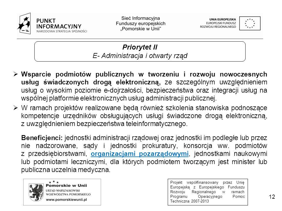 E- Administracja i otwarty rząd