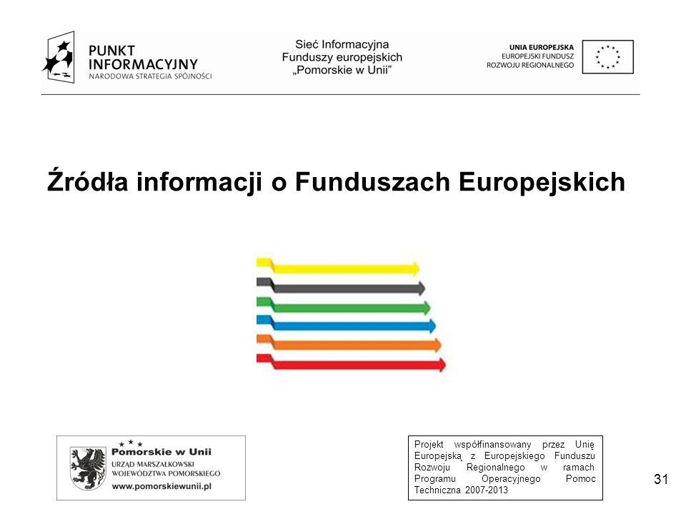 Źródła informacji o Funduszach Europejskich