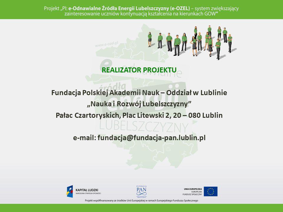 Fundacja Polskiej Akademii Nauk – Oddział w Lublinie
