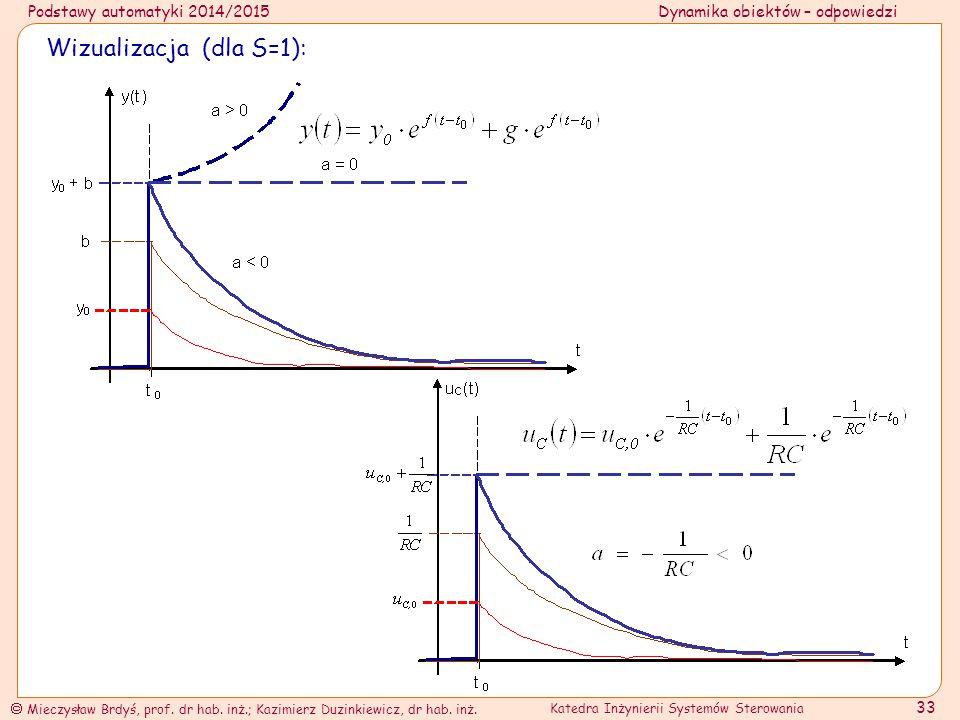 Wizualizacja (dla S=1):