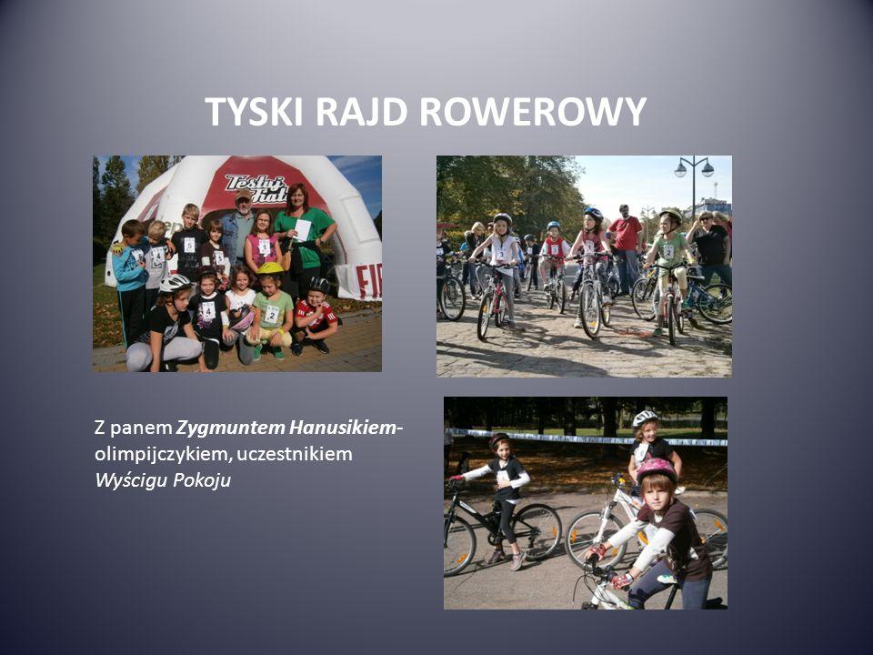TYSKI RAJD ROWEROWY Z panem Zygmuntem Hanusikiem-