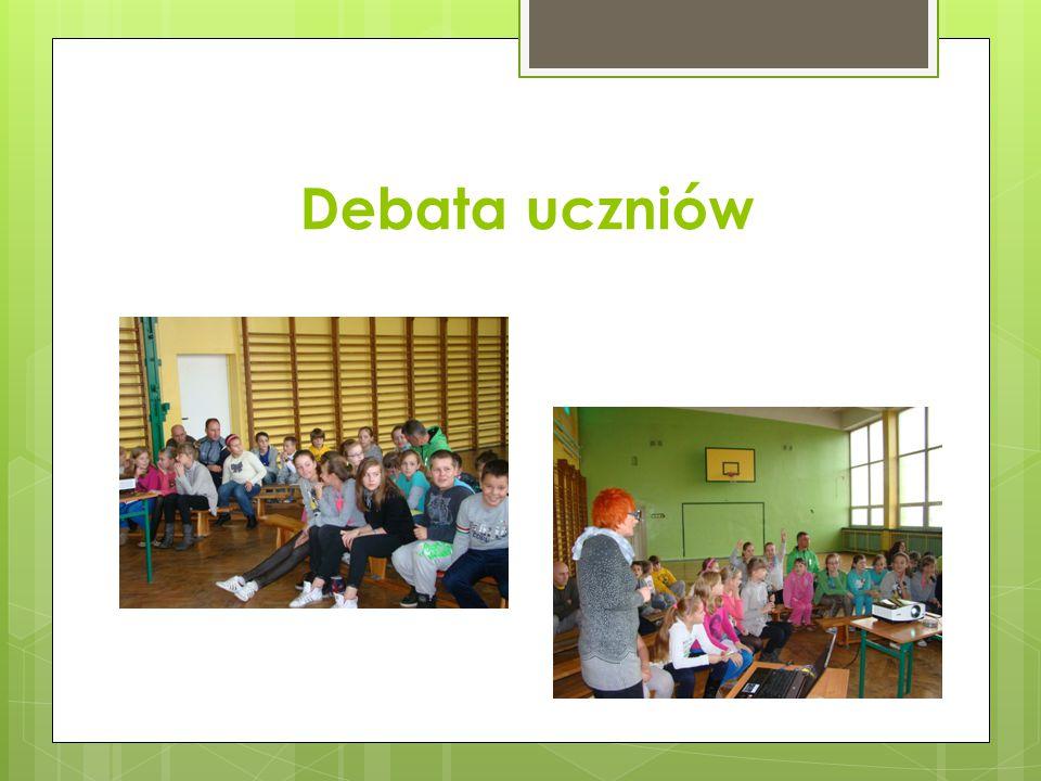 Debata uczniów
