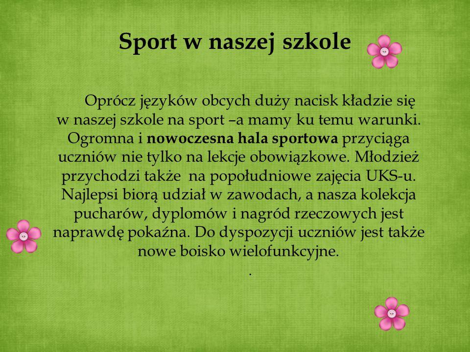 Sport w naszej szkole