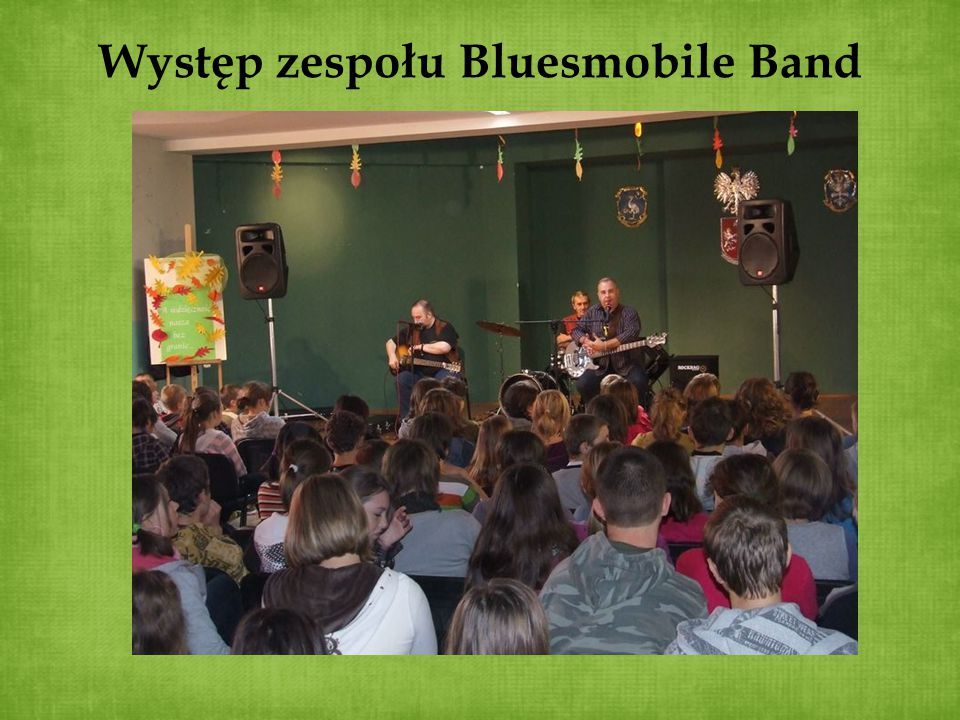 Występ zespołu Bluesmobile Band