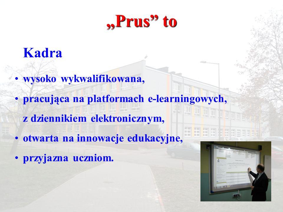 """""""Prus to Kadra wysoko wykwalifikowana,"""