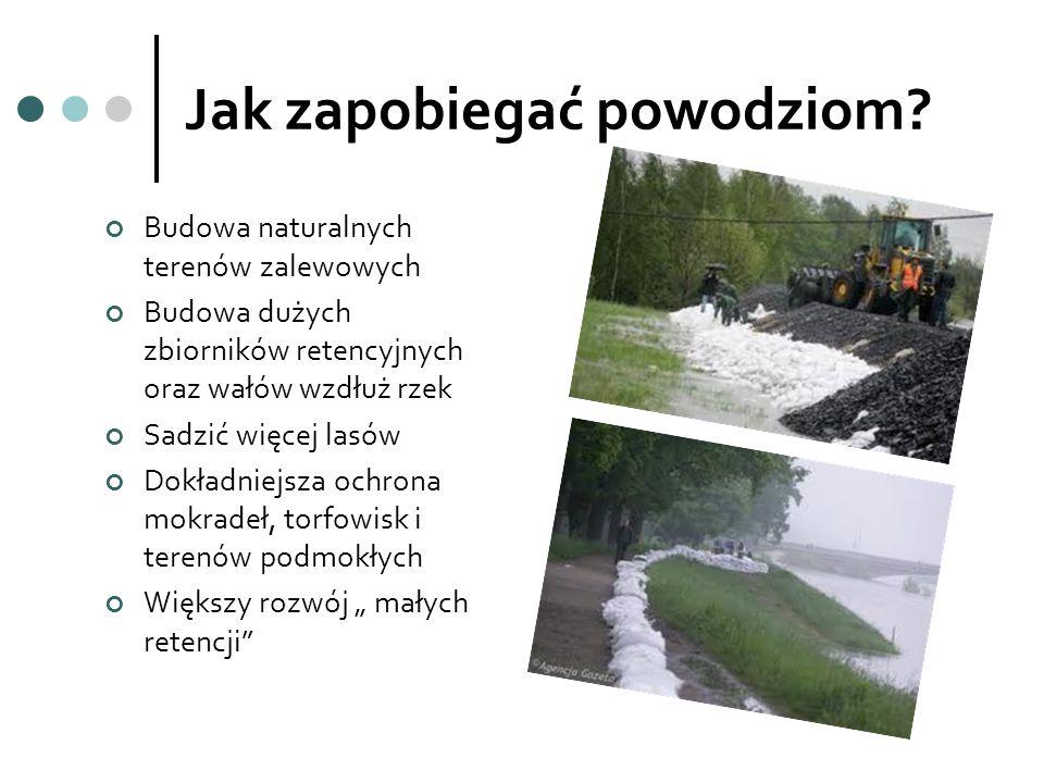 Jak zapobiegać powodziom