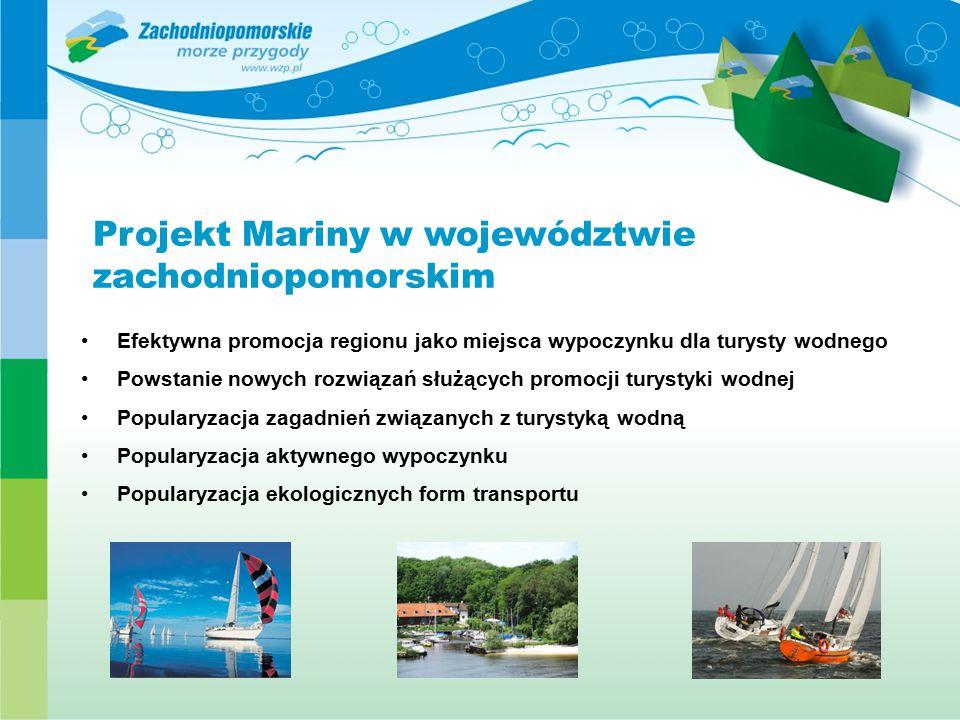 Projekt Mariny w województwie zachodniopomorskim