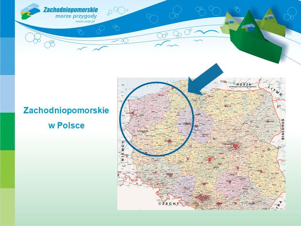 Zachodniopomorskie w Polsce