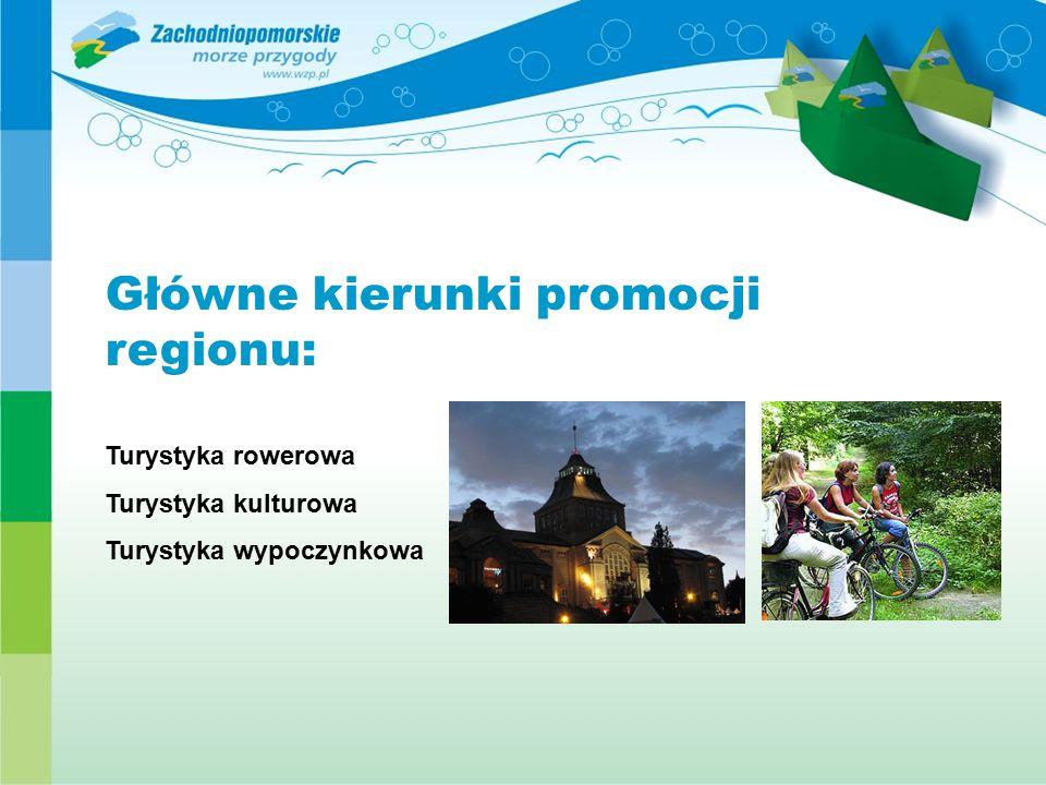 Główne kierunki promocji regionu:
