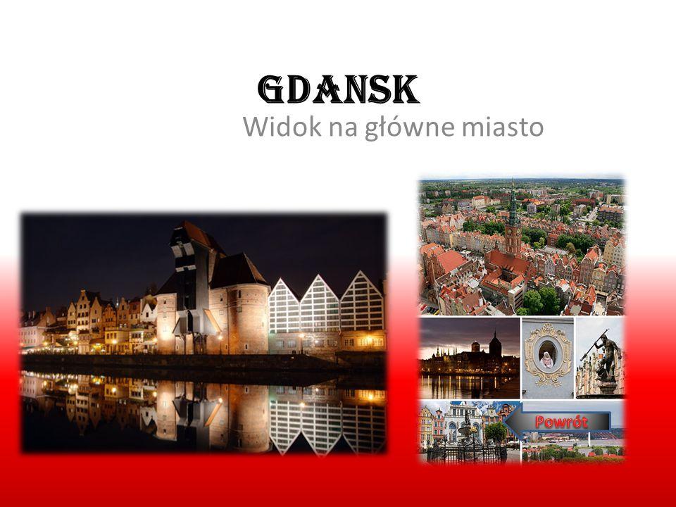 Gdansk Widok na główne miasto Powrót