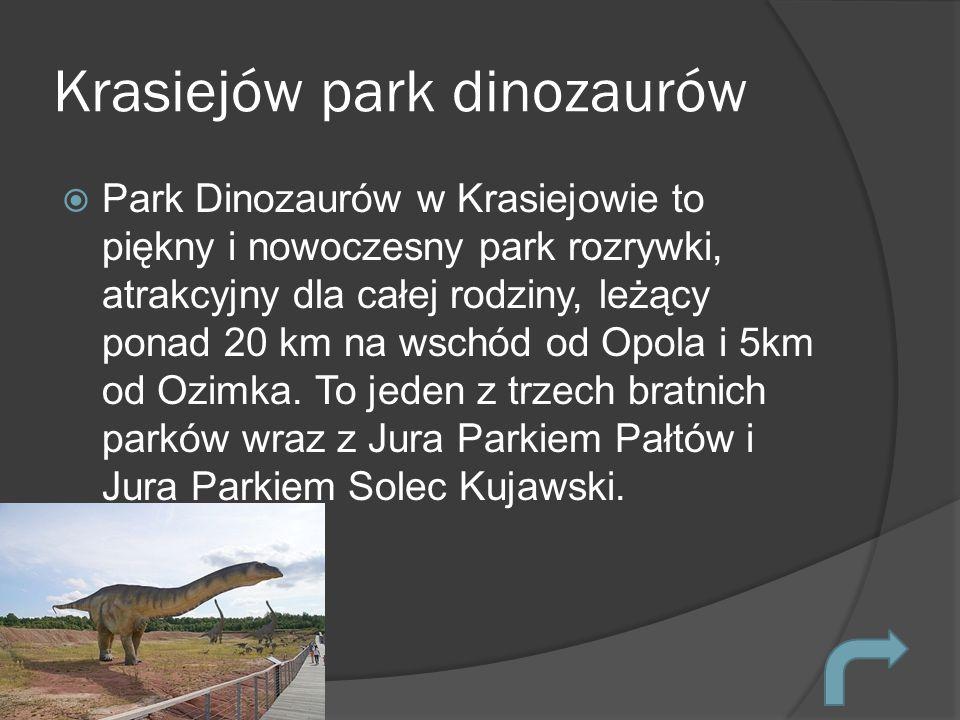 Krasiejów park dinozaurów