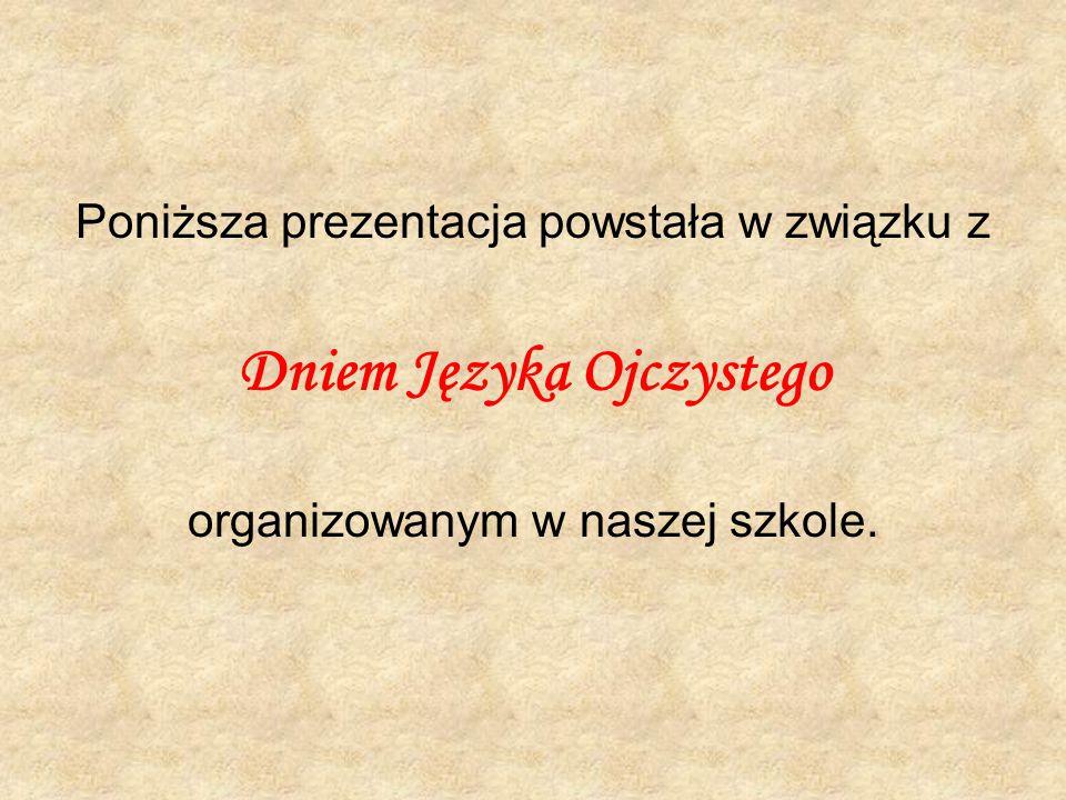 Dniem Języka Ojczystego