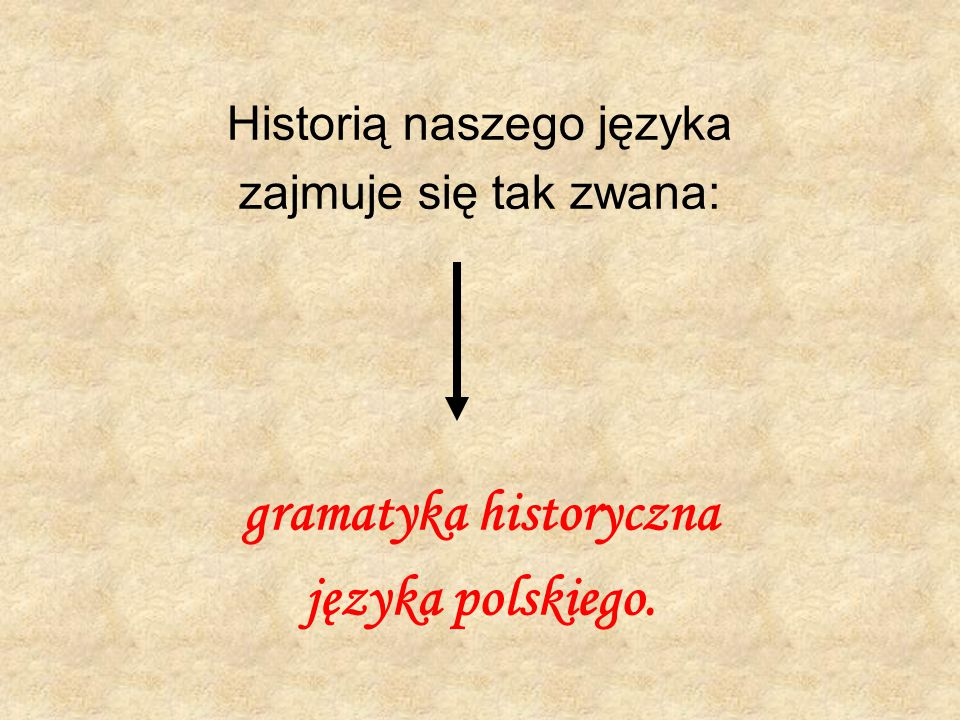 gramatyka historyczna