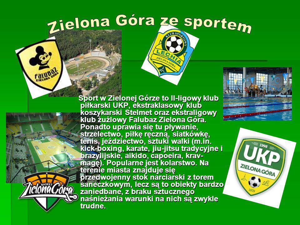 Zielona Góra ze sportem