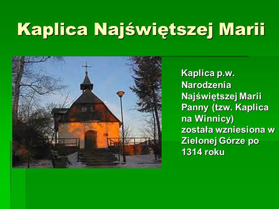 Kaplica Najświętszej Marii
