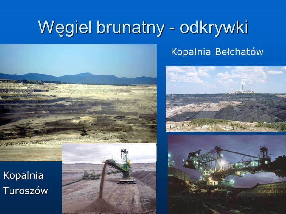 Węgiel brunatny - odkrywki