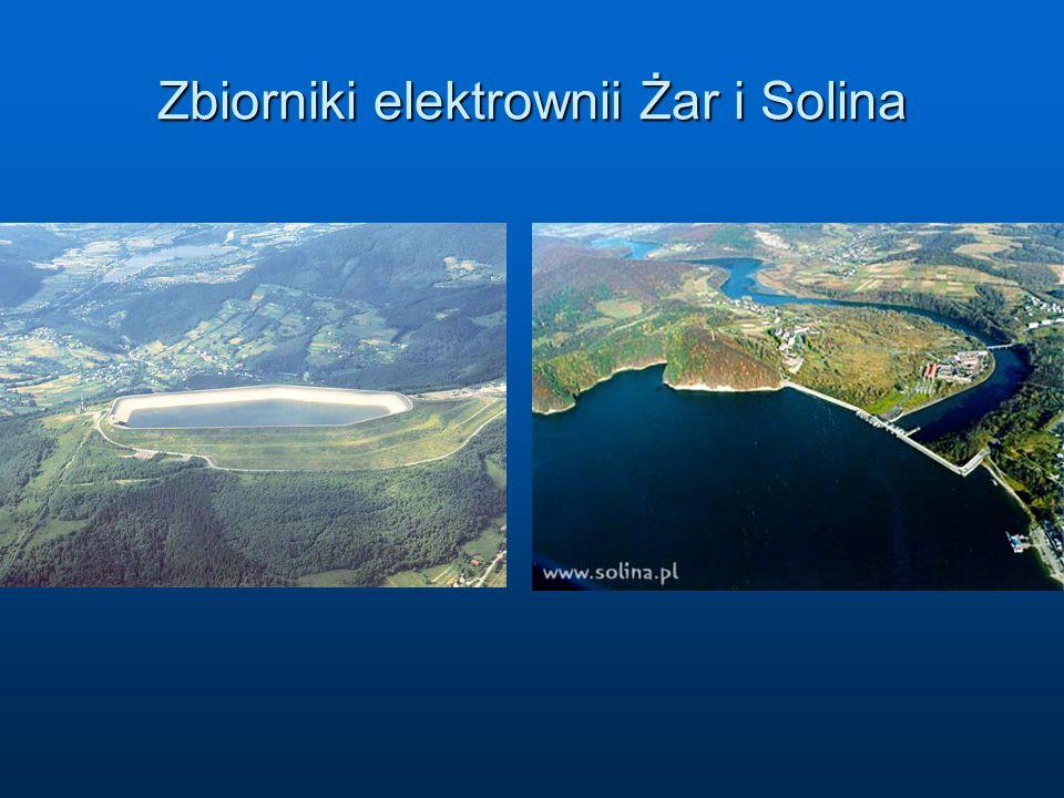 Zbiorniki elektrownii Żar i Solina
