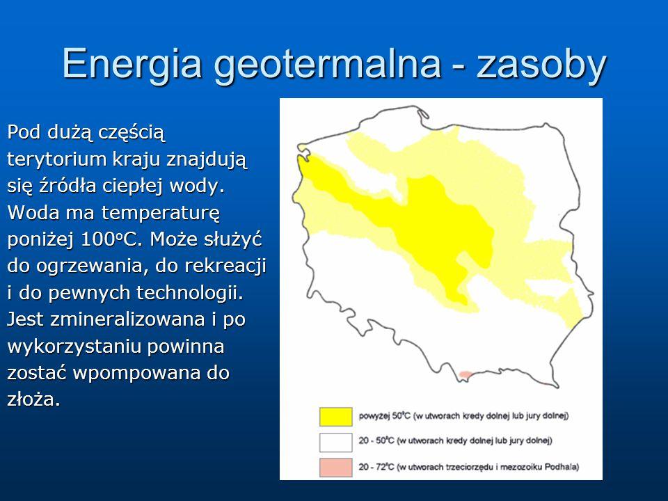Energia geotermalna - zasoby