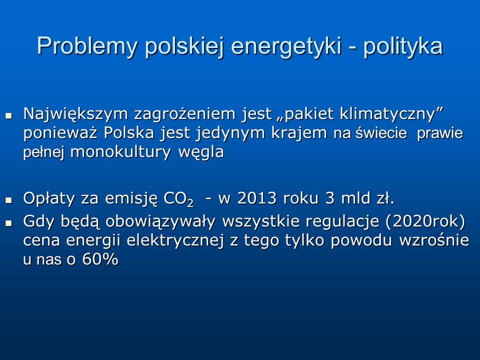 Problemy polskiej energetyki - polityka