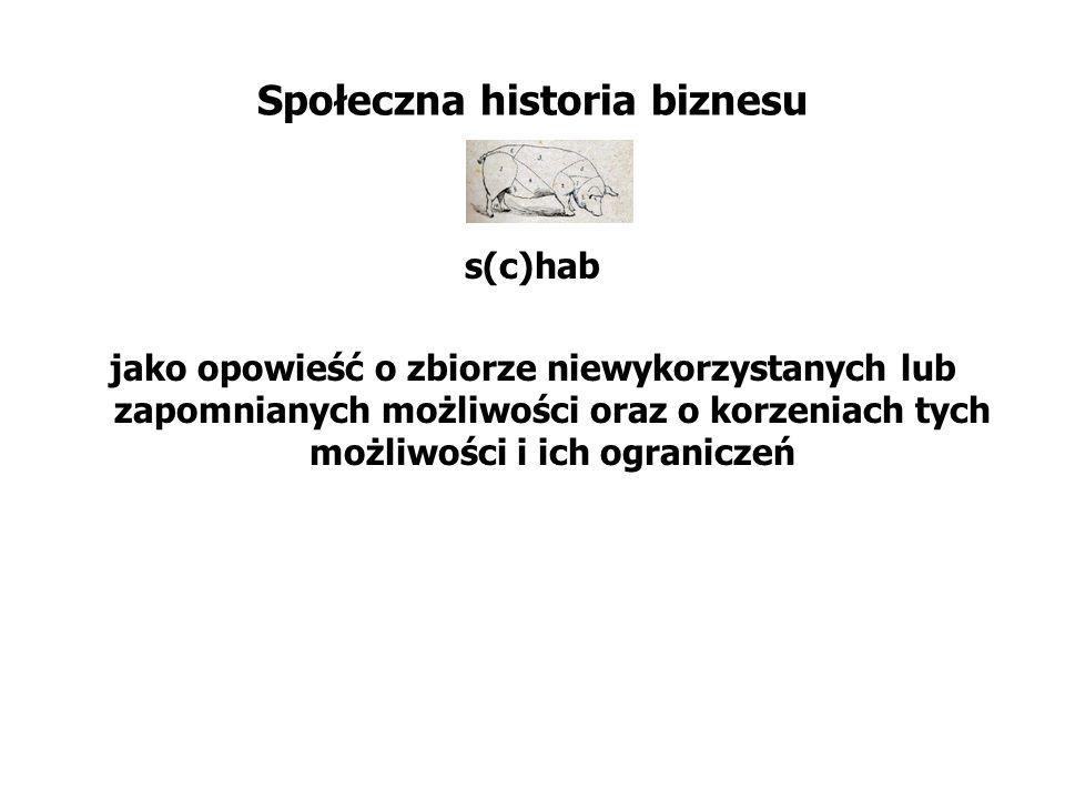 Społeczna historia biznesu