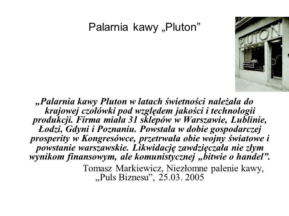 "Palarnia kawy ""Pluton"