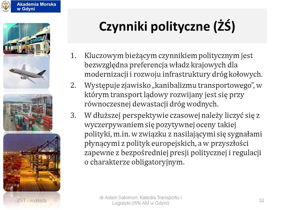 Czynniki polityczne (ŻŚ)