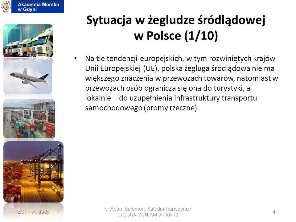 Sytuacja w żegludze śródlądowej w Polsce (1/10)