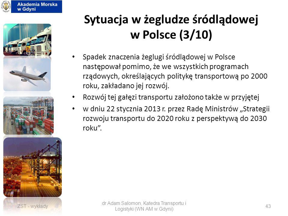 Sytuacja w żegludze śródlądowej w Polsce (3/10)