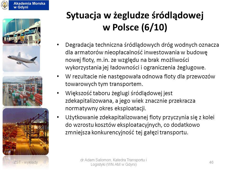 Sytuacja w żegludze śródlądowej w Polsce (6/10)