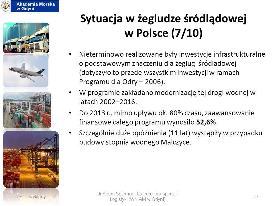 Sytuacja w żegludze śródlądowej w Polsce (7/10)