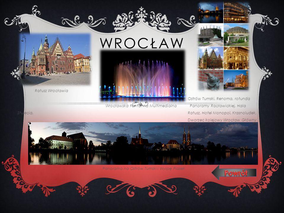 Wrocław Powrót Ratusz Wrocławia