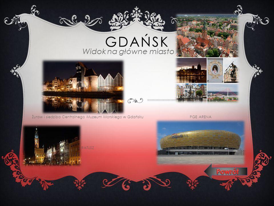 Gdańsk Widok na główne miasto Powrót