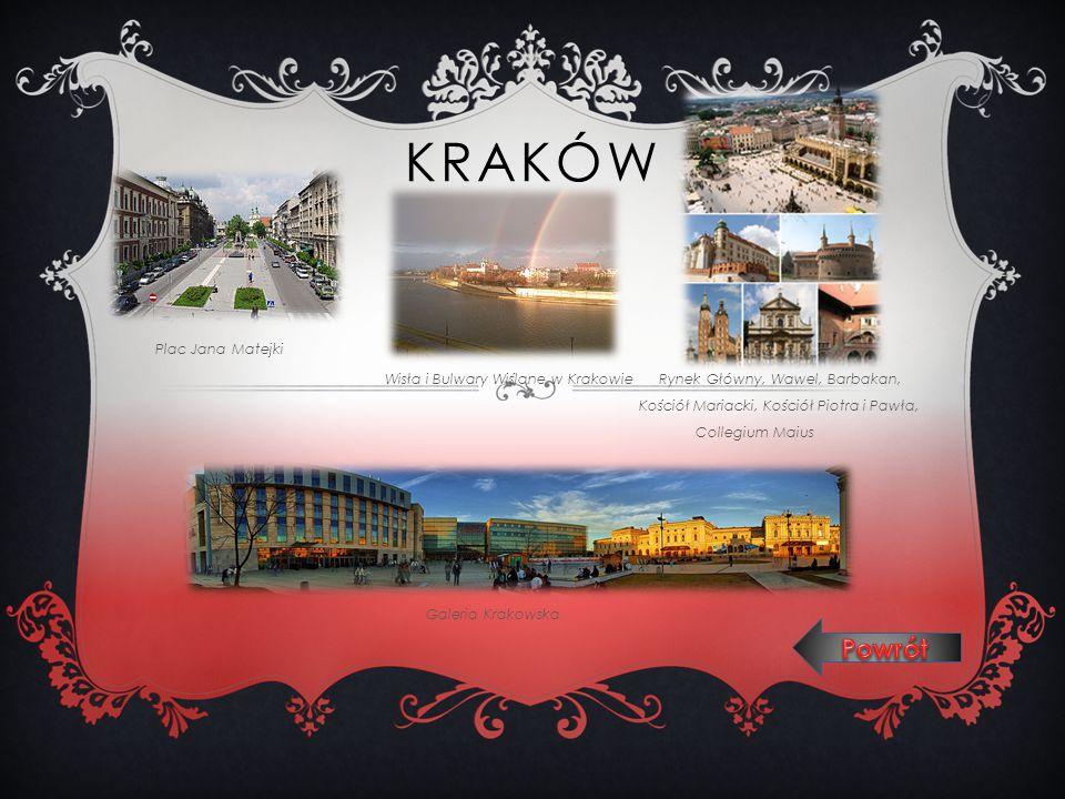Kraków Powrót Plac Jana Matejki