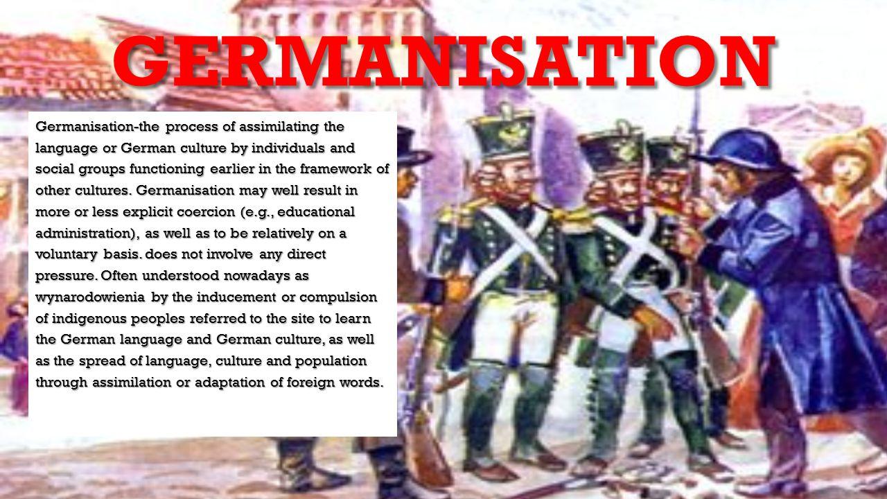 GERMANISATION