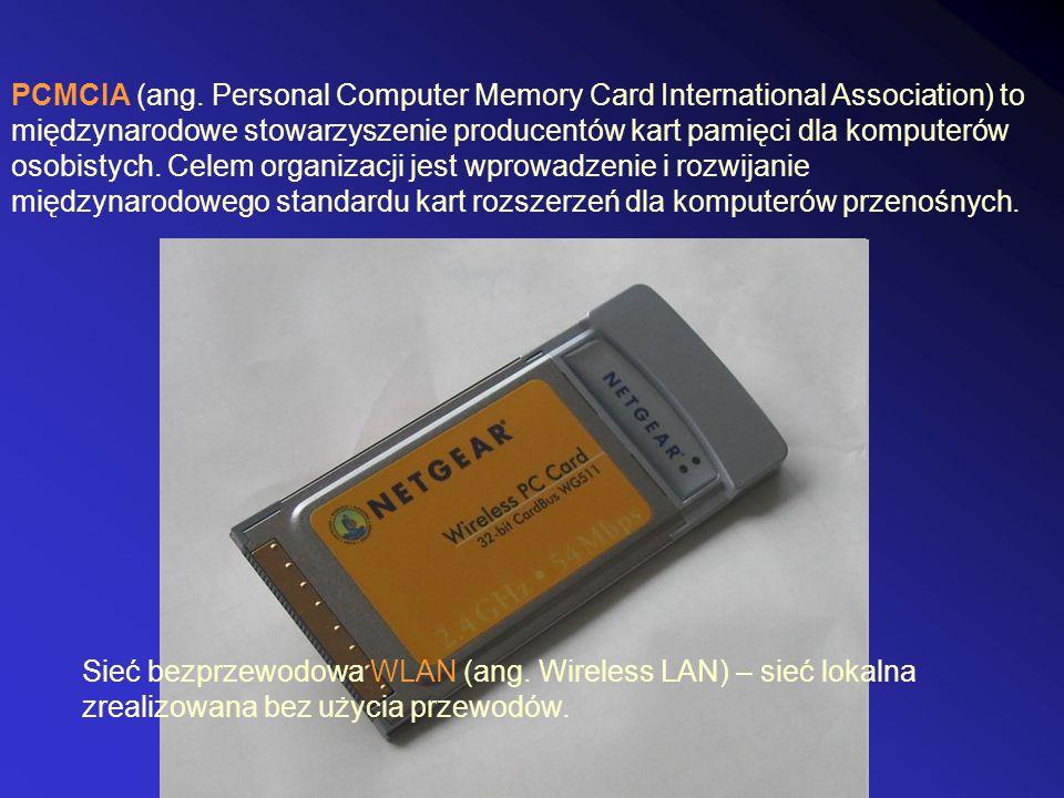 PCMCIA (ang. Personal Computer Memory Card International Association) to międzynarodowe stowarzyszenie producentów kart pamięci dla komputerów osobistych. Celem organizacji jest wprowadzenie i rozwijanie międzynarodowego standardu kart rozszerzeń dla komputerów przenośnych.