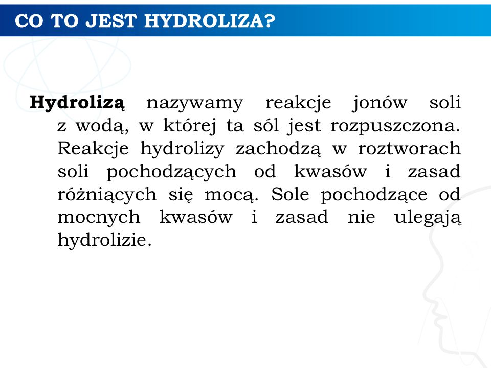 CO TO JEST HYDROLIZA