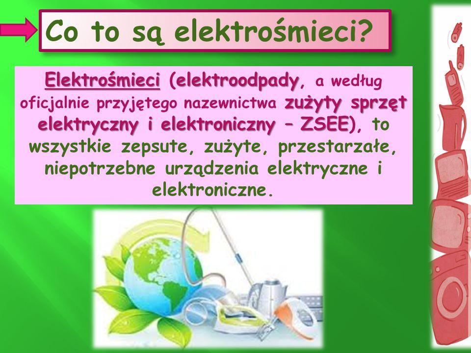 niepotrzebne urządzenia elektryczne i elektroniczne.