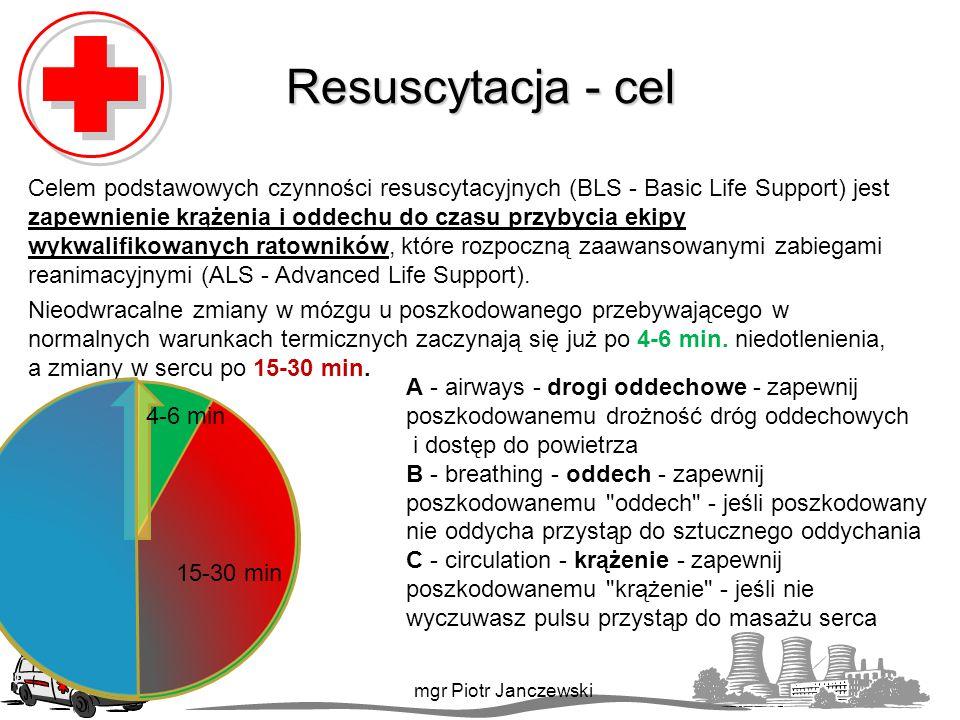 Resuscytacja - cel