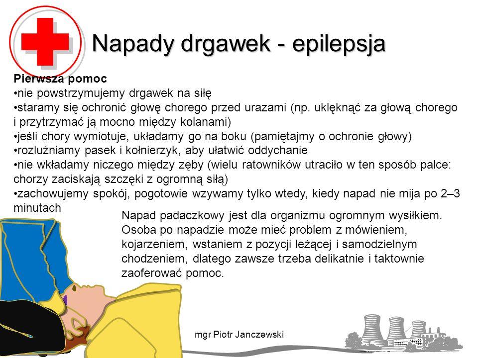 Napady drgawek - epilepsja