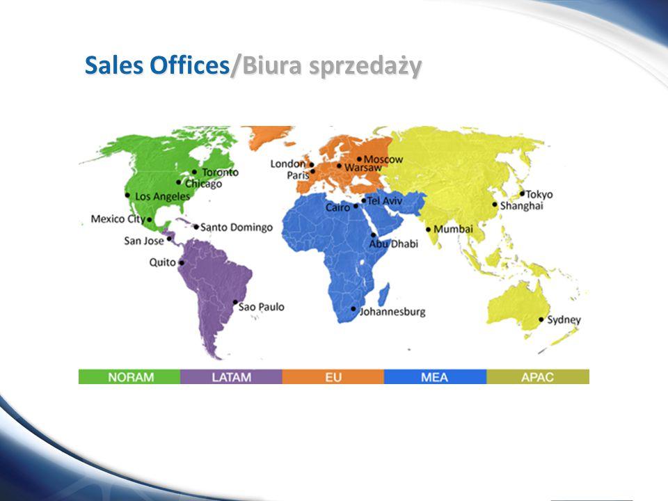 Sales Offices/Biura sprzedaży