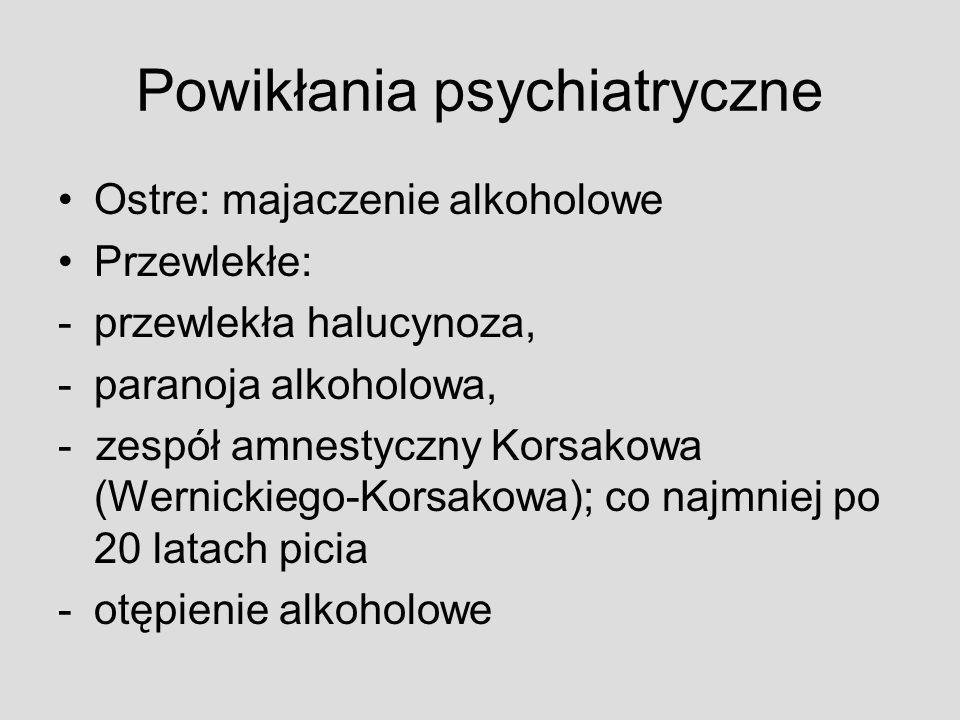 Powikłania psychiatryczne