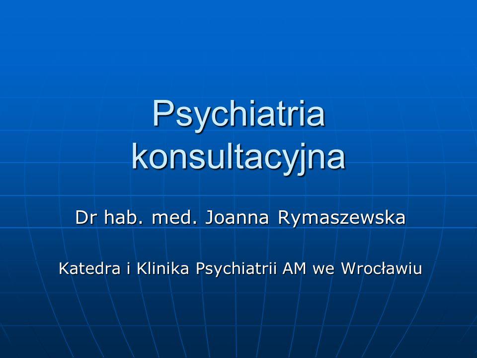 Psychiatria konsultacyjna