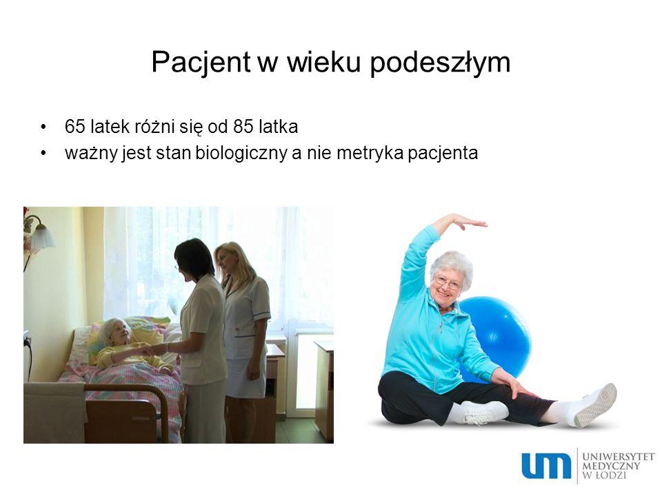 Pacjent w wieku podeszłym