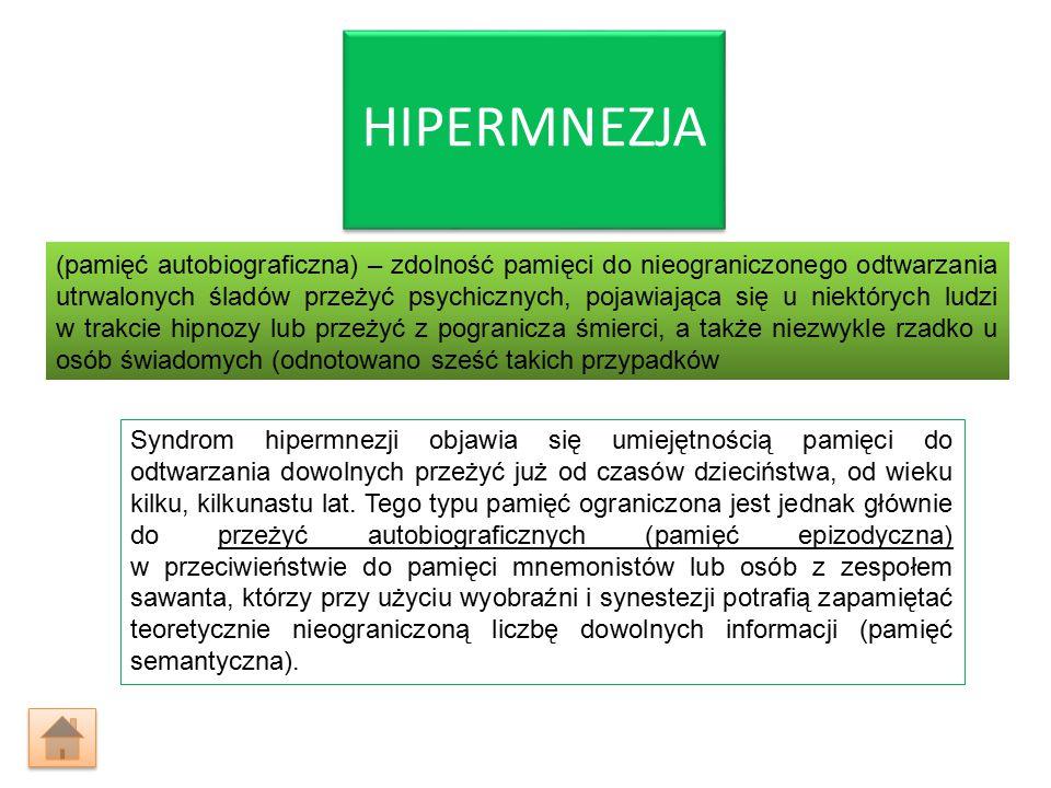 HIPERMNEZJA