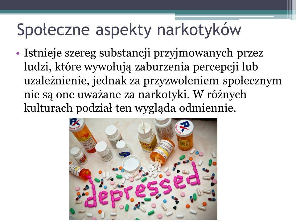 Społeczne aspekty narkotyków