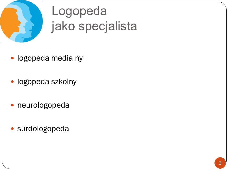 Logopeda jako specjalista